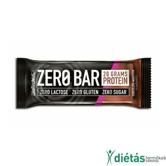 BIOTECH ZeroBar csokoládé-marcipán 50 g
