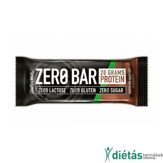 BIOTECH ZeroBar csokoládé-mogyoró 50 g