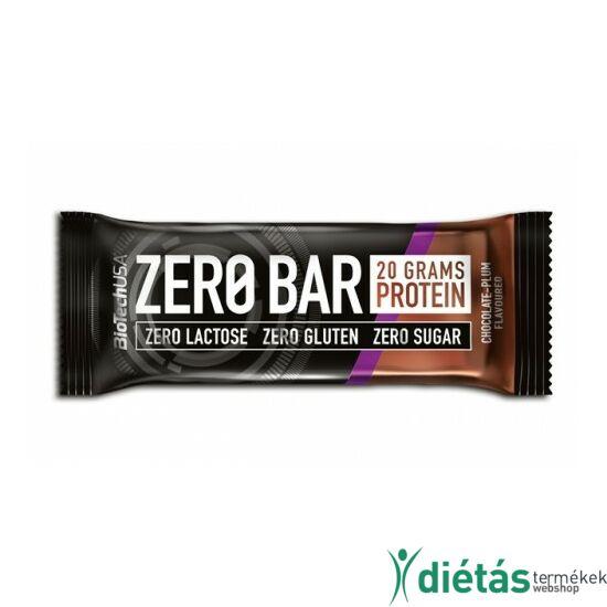 BIOTECH ZeroBar csokoládé-szilva 50 g