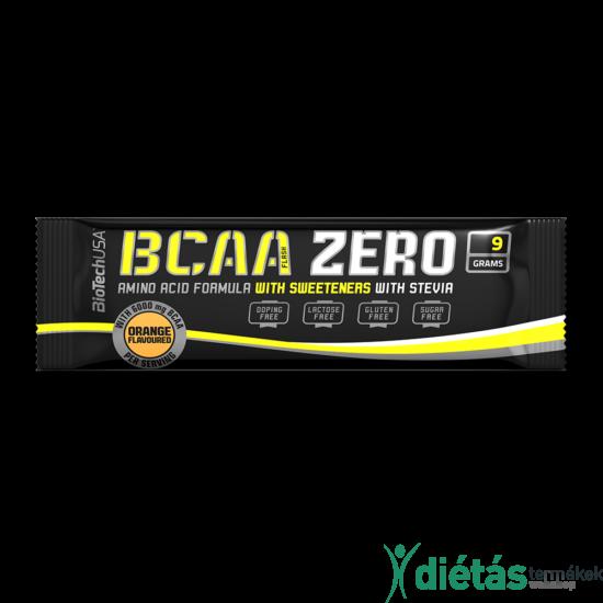 BCAA Flash ZERO 9g narancs