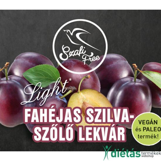 Szafi Free Fahéjas szilva-szőlő lekvár 350 g