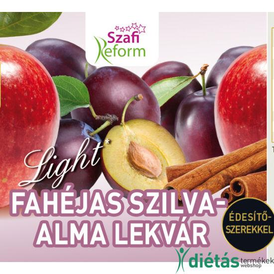 Szafi Reform Fahéjas szilva-alma lekvár 350g