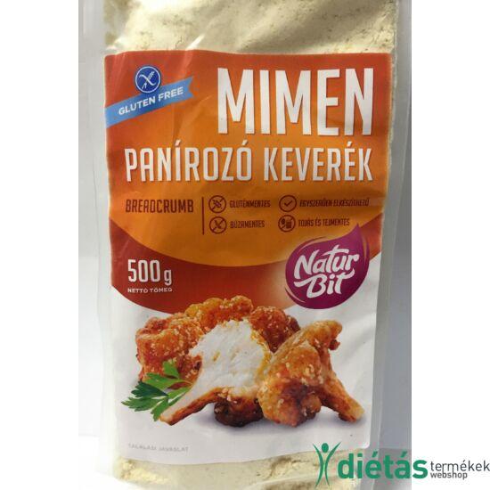Naturbit Mimen gluténmentes Panírozó keverék (MINDENMENTES) 500 g