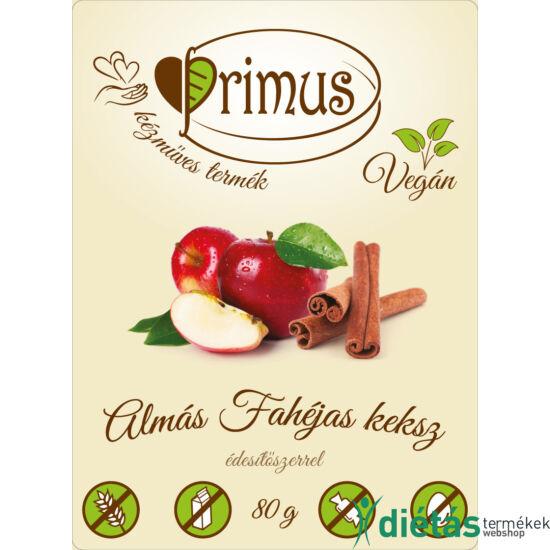 Primus paleo keksz almás-fahéjas 80 g