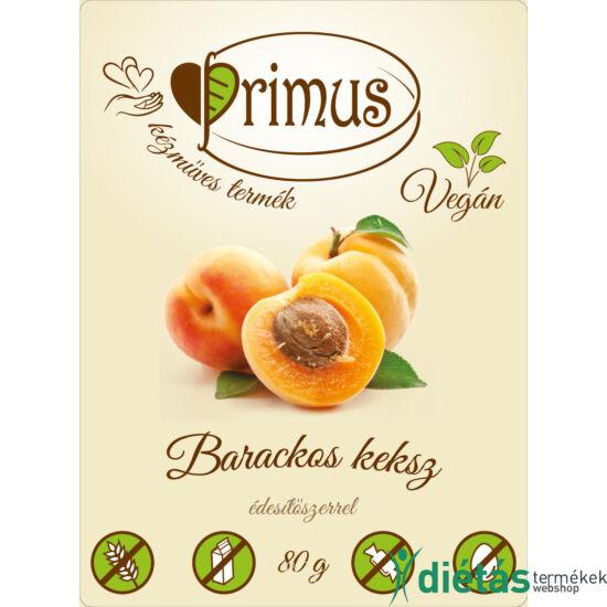 Primus paleo keksz barackos 80 g
