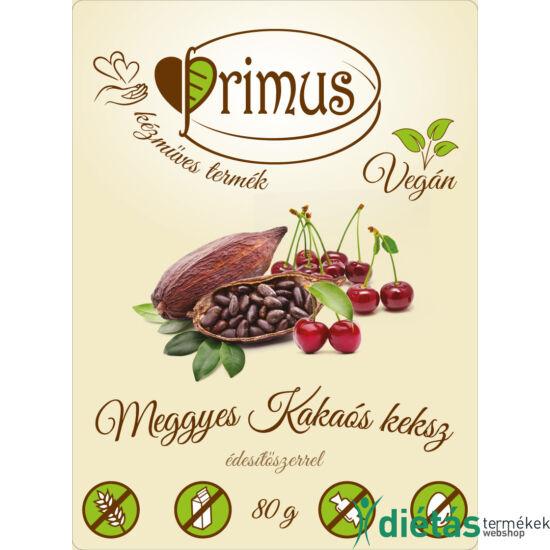 Primus paleo keksz kakaós-meggyes 80 g