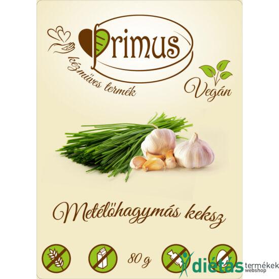 Primus paleo keksz metélőhagymás 80 g