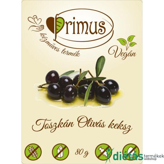 Primus paleo keksz toscan olivás 80 g