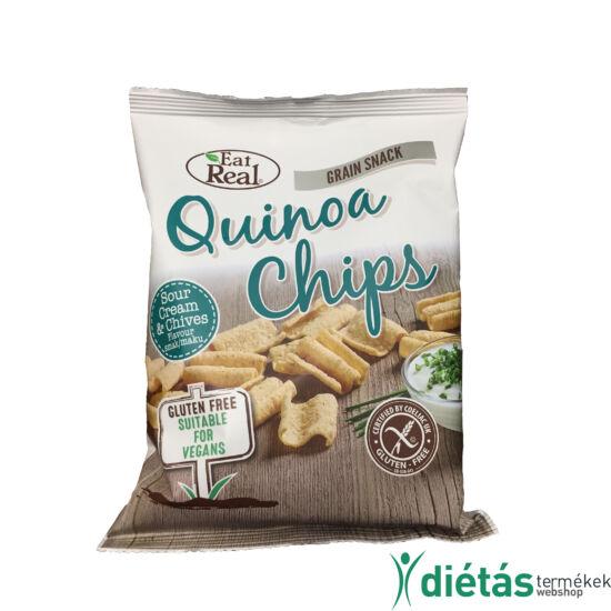 Eat real quinoa chips tejföl snidling 30g