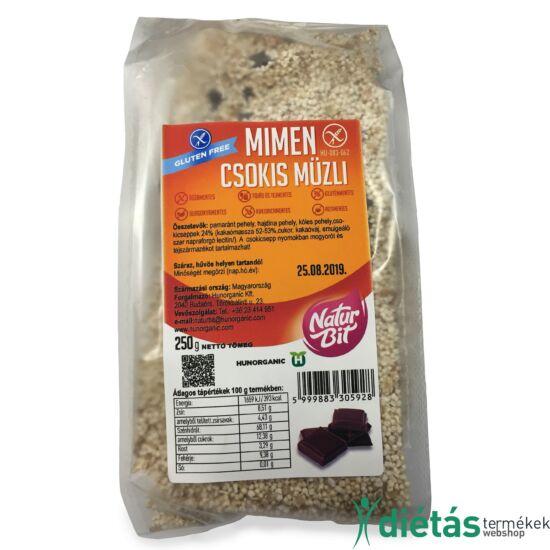 Mimen Csokis Müzli (MINDENMENTES) 250 g