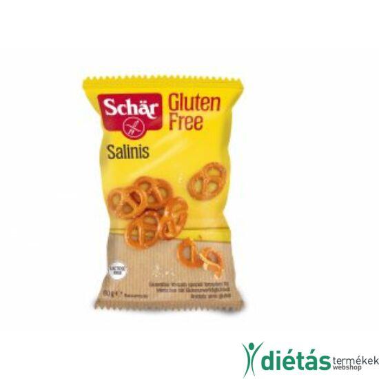 Schär Salinis - Gluténmentes, laktózmentes, tojásmentes sós kisperecek 60 g