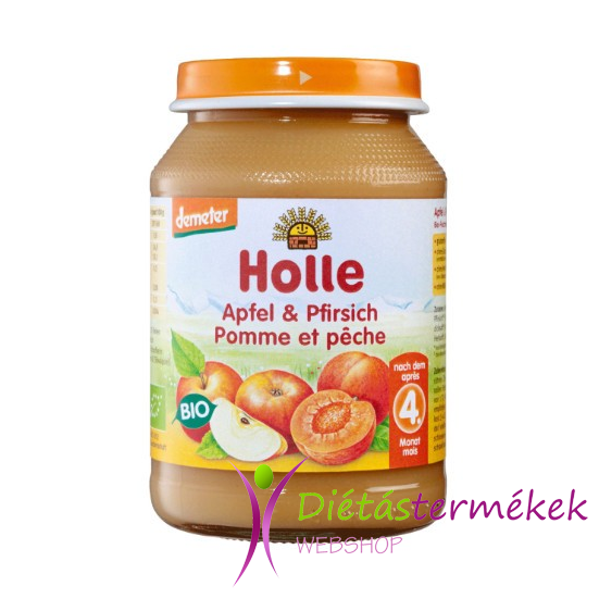 HOLLE BIO BÉBIÉTEL ŐSZIBARACK-ALMA 190 g