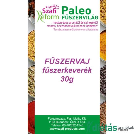 Szafi Reform Paleo Fűszervaj fűszerkeverék 30g