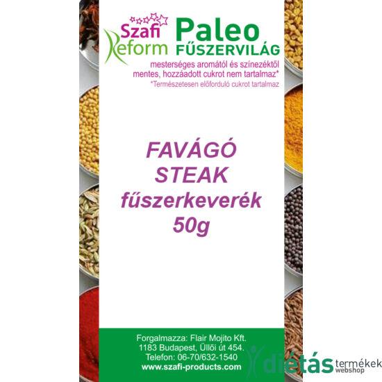 Szafi Reform Paleo Favágó steak fűszerkeverék (gluténmentes) 50g