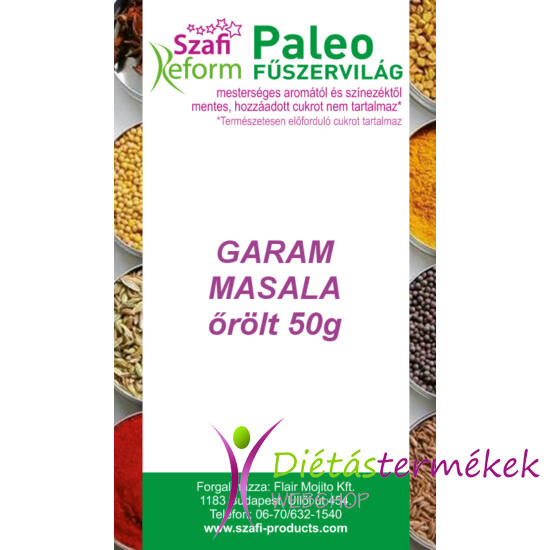 Szafi Reform Paleo Garam masala, őrölt 50g