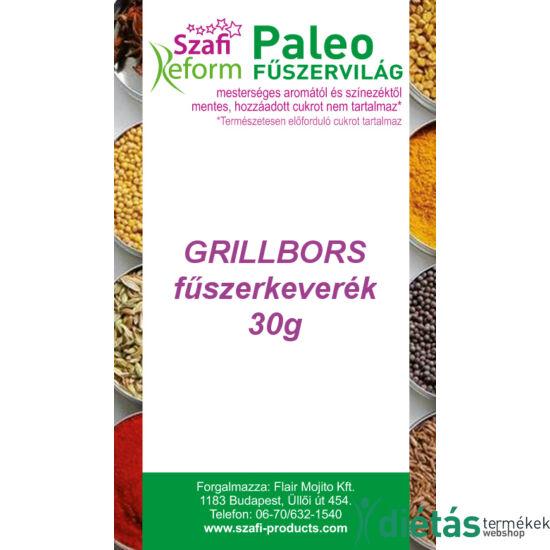 Szafi Reform Paleo Grillbors fűszerkeverék (gluténmentes) 30 g