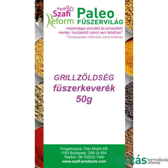 Szafi Reform Paleo Grillzöldség fűszerkeverék 50 g