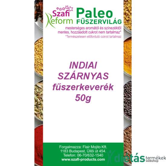 Szafi Reform Paleo Indiai szárnyas fűszerkeverék 50 g