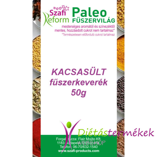 Szafi Reform Paleo Kacsasült fűszerkeverék 50g
