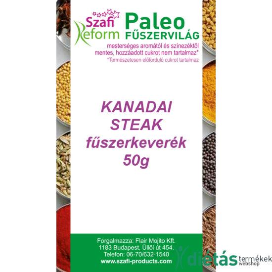 Szafi Reform Paleo Kanadai steak fűszerkeverék (gluténmentes) 50 g