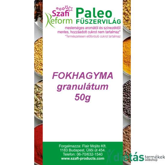 Szafi Reform Paleo fokhagyma granulátum 50g