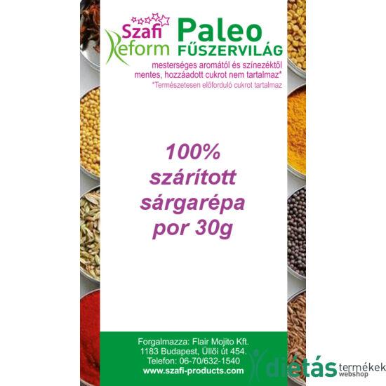 Szafi Reform Paleo 100% szárított sárgarépa por 30 g