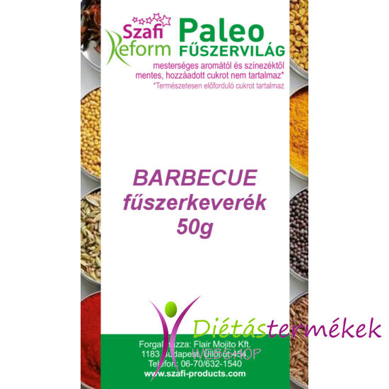 Szafi Reform Paleo Barbecue fűszerkeverék 50 g
