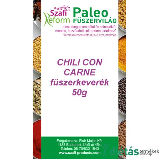 Szafi Reform Paleo Chili con carne fűszerkeverék 50 g