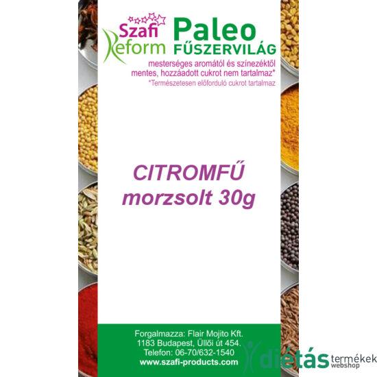 Szafi Reform Paleo Citromfű, morzsolt 30 g