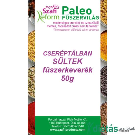 Szafi Reform Paleo Cseréptálban sültek fűszerkeverék 50g