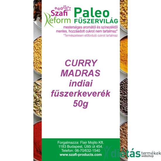 Szafi Reform Paleo Curry Madras indiai fűszerkeverék 50 g