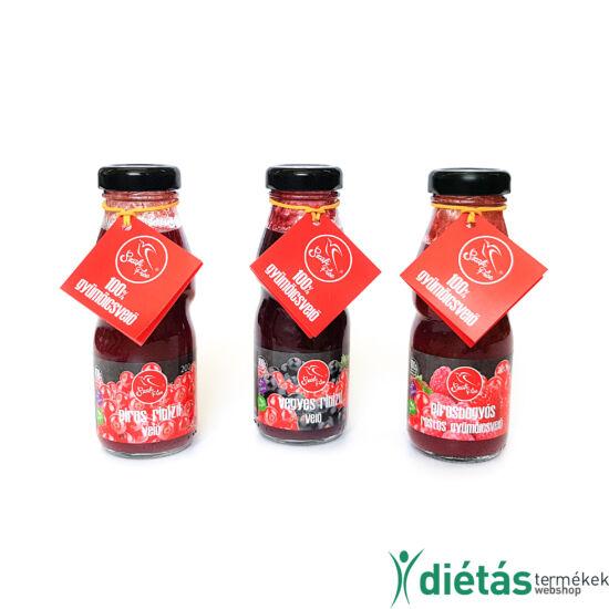Szafi Free Pirosbogyós rostos gyümölcsvelő 200 ml