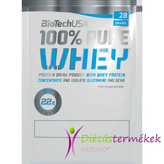 Biotech USA Nitro Pure Whey fehérjepor (Meggy-Joghurt) 28 g