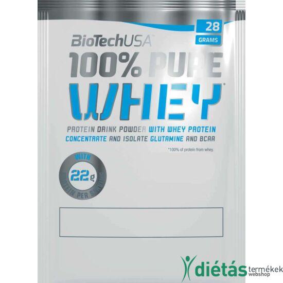 Biotech USA Nitro Pure Whey fehérjepor (Eper-Vanília krém) 28 g