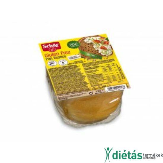 Schär Pan Rustico szeletelt kenyér (gluténmentes, tejmentes, tojásmentes) 250 g