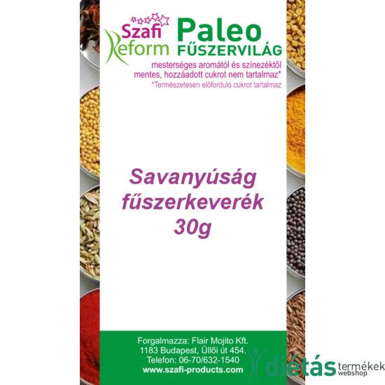 Szafi Reform Paleo Savanyúság fűszerkeverék (pl. savanyú uborka ízesítéséhez) (gluténmentes) 30 g