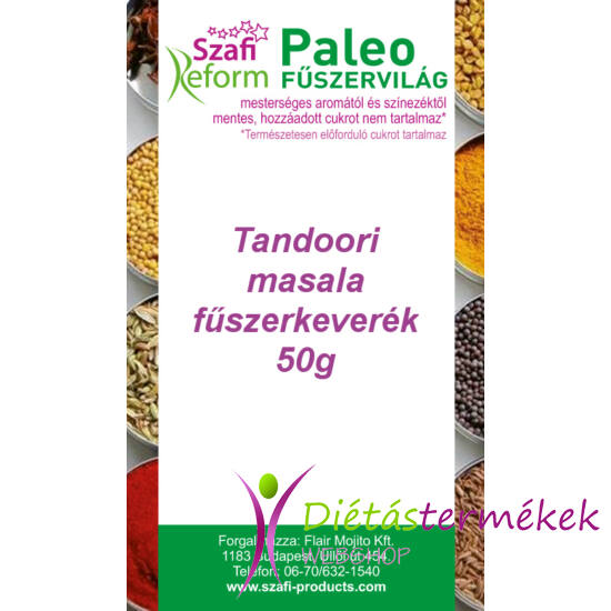 Szafi Reform Paleo Tandoori masala fűszerkeverék 50 g