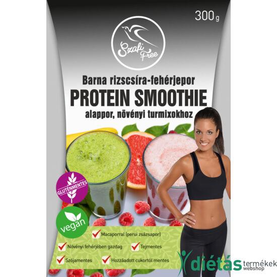 Szafi Free Barna rizscsíra-fehérjepor protein smoothie  (gluténmentes, vegán) 300 g