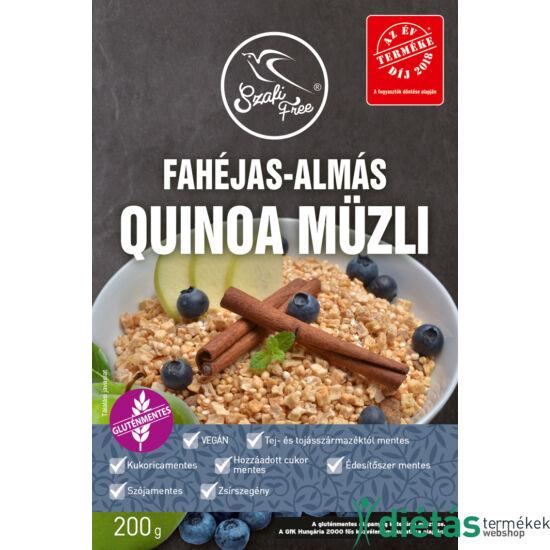 Szafi Free Fahéjas-almás quinoa müzli (gluténmentes, tejmentes, szójamentes) 200g