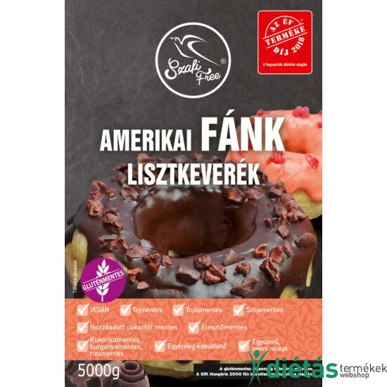 Szafi Free amerikai Fánk lisztkeverék (gluténmentes, tejmentes, tojásmentes, élesztőmentes) 5000g
