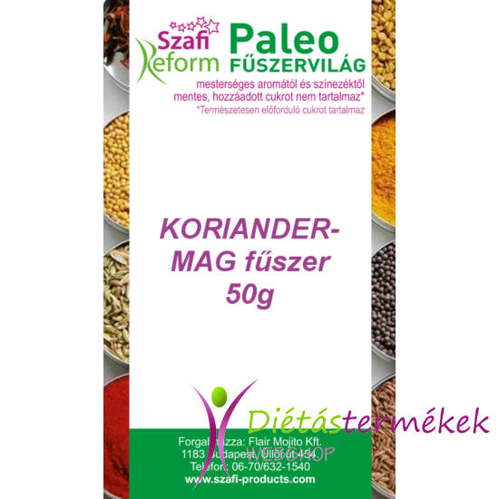Szafi Reform Paleo Koriandermag fűszer 50g