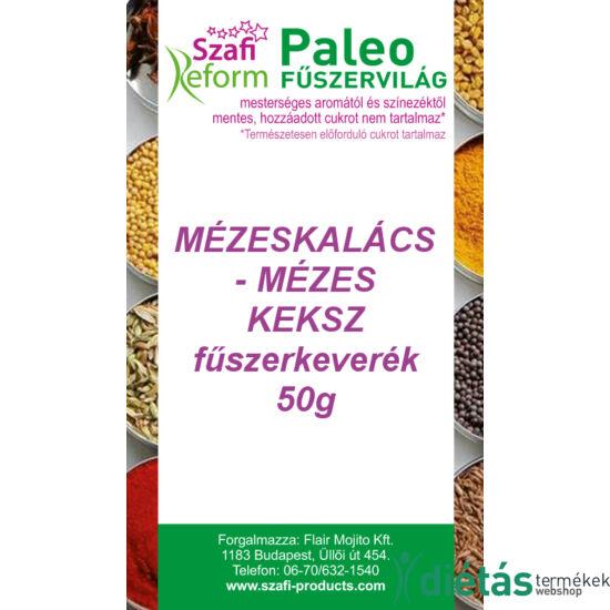 Szafi Reform Paleo Mézeskalács - Mézes keksz fűszerkeverék 50g