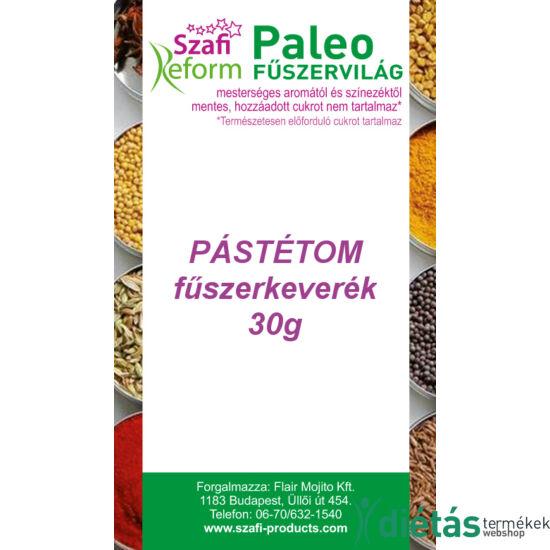 Szafi Reform Paleo Pástétom fűszerkeverék 30 g