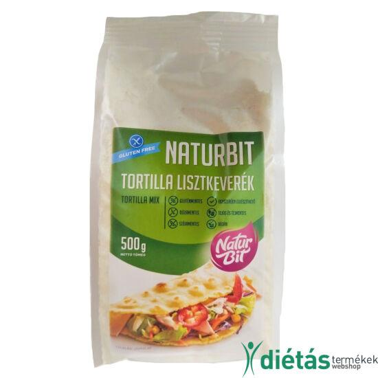 Naturbit Gluténmentes Tortilla Lisztkeverék 500 g