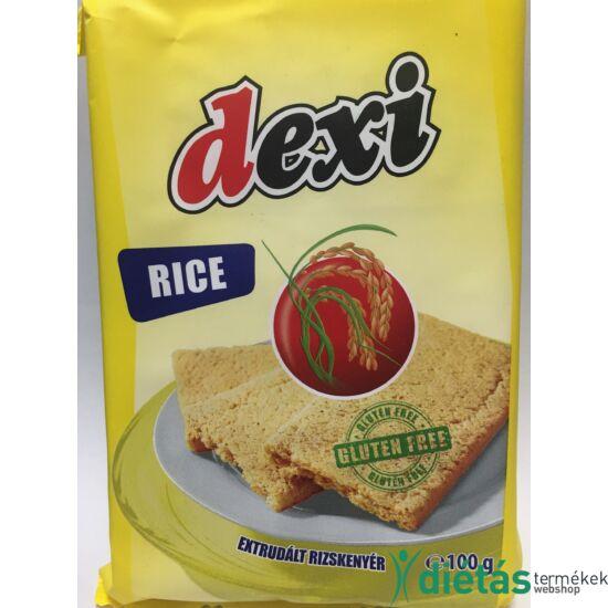 Dexi extrudált rizskenyér (gluténmentes, tejmentes, tojásmentes) 100 g