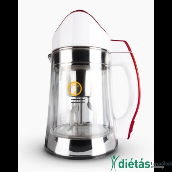 Glass Scarlet növényi italkészítő automata, darálásmentes főzőfejjel - 1,3 l