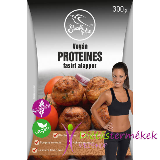 Szafi Free VEGÁN proteines növényi fasírt alappor (gluténmentes, szójamentes) 300g