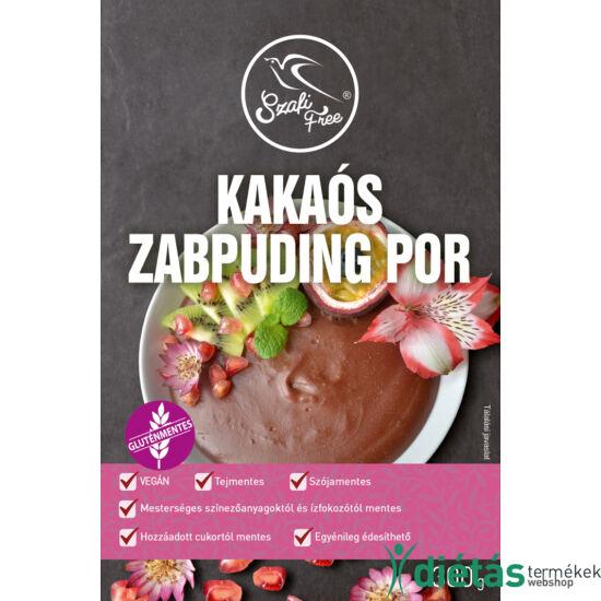 Szafi Free Kakaós zabpuding por 300 g (gluténmentes, tejmentes, kukoricamentes, szójamentes)