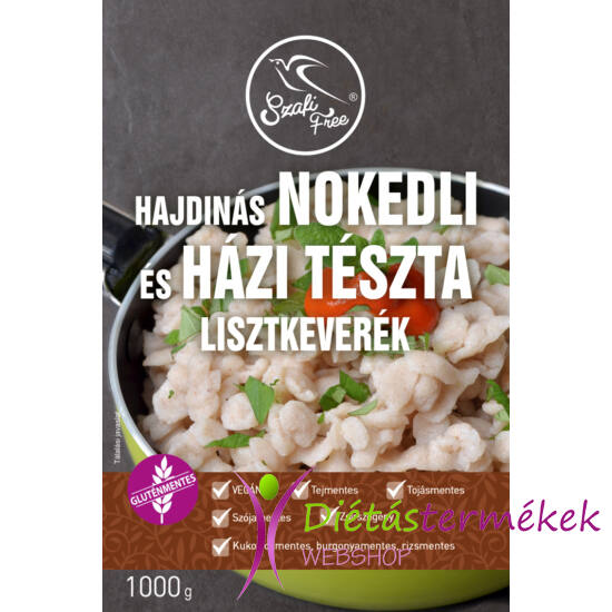 Szafi Free Hajdinás Nokedli és házi tészta lisztkeverék 1000 g (gluténmentes, tejmentes, tojásmentes,  zsírszegény)