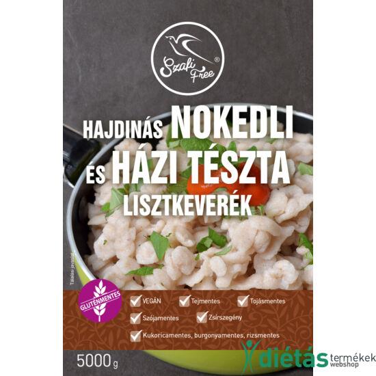 Szafi Free Hajdinás Nokedli és házi tészta lisztkeverék 5000 g (gluténmentes, tejmentes, tojásmentes, zsírszegény)